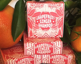 Grapefruit & Ginger Volumizing Big Shampoo Bar