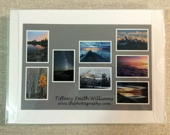 Boxed Set of 8 Note Cards - Northern Utah Images