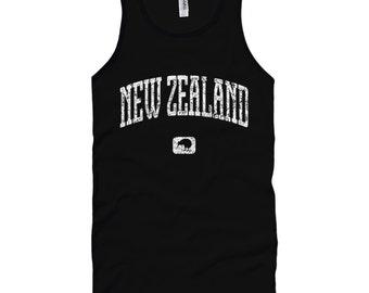 New Zealand T-shirt Tank Top - Unisex XS S M L XL 2x Men and Women - New Zealand Gift for Men, Her, Kiwi Tank Top, Auckland, Christchurch
