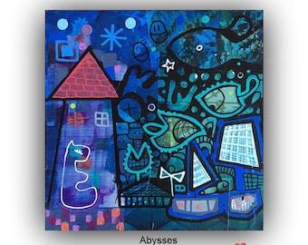 """Abyss"" miniart No. 47, 2016, MonMondimaginaire"