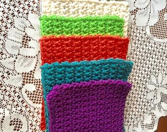 Crocheted coasters Mug mats for coffee tea hot chocolate Hot pads