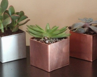 Solid copper anywhere pot