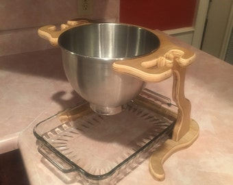 Countertop Pot Tipper for KitchenAid Mixing Bowls and Pots