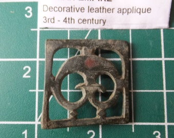 3rd Century Roman Leather Applique