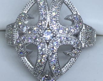 Sterling SilverBling Bling Ring