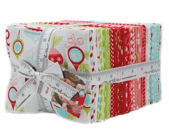 Vintage Holiday Fat Quarter Bundle by Bonnie and Camille for Moda Fabrics