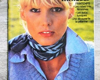 Phildar magazine 35 stitches - spring (Vintage)