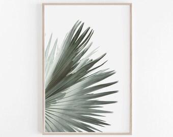 Leaf Print,Bedroom Decor,Palm Leaf Print,Botanical Print,Bedroom Wall Art,Housewarming Gifts,Botanical,Large Wall Art,Leaf,Digital Download