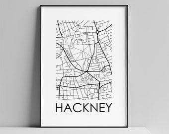 Hackney, London Maps