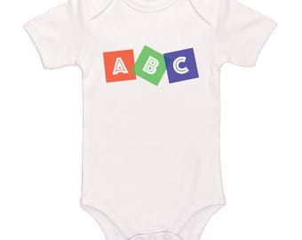 ABC - Cute Baby Clothing For Baby Boys And Baby Girls, Adorable One-Piece Outfit
