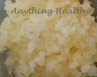 Fresh Water Kefir Grains Tibicos Probiotic Culture Starter Tibetan DIY Idea Homemade Soda Alternative Make Your Own Fizzy All Things Healthy