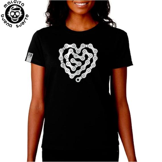 Girl t-shirt MBS chain heart