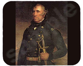 Mouse Pad; Zachary Taylor