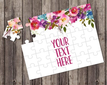 Create Your Own Puzzle - Pregnancy Announcement - Custom Puzzle - Personalized Puzzle - Announcement Ideas - Wedding Announcement - CYOP0139