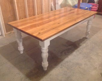 Antique Chestnut Farm/Harvest Table