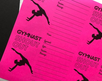 GYMNAST Shout Out Digital Printable