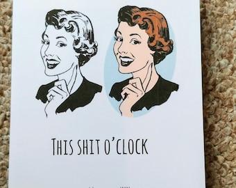 Funny Sarcasm Card