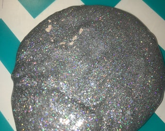 Holo There Clear Glitter Slime