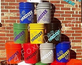 Yardzee Bucket ONLY / Yardzee Yard Game / Yahtzee