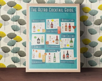 Guide de Cocktail rétro