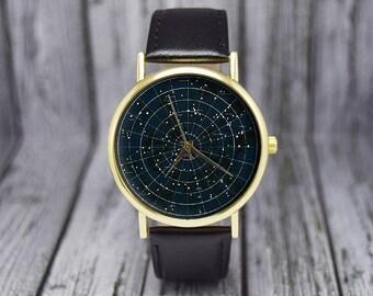 Constellation Watch | Astrology Watch | Zodiac | Space Watch | Ladies Watch | Men's Watch | Birthday | Wedding | Gift Ideas | Accessories