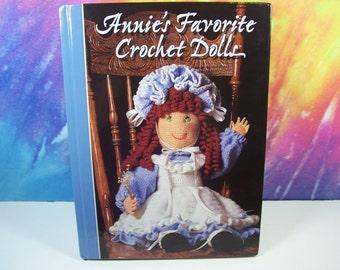 Annie's Attic Favorite Crochet Dolls Hardcover Pattern Book
