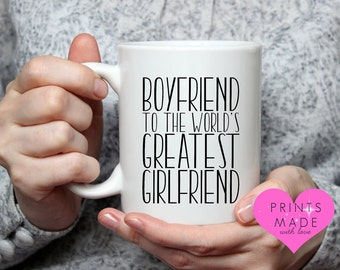 Funny couple gift greatest boyfriend  girlfriend  wife  husband 11oz mug birthday anniversary Valentine's not available on the high street