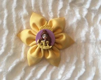 Belle Fabric Flower