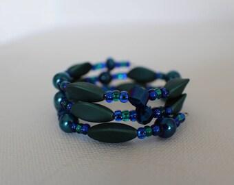 Truth- Coil Bracelet