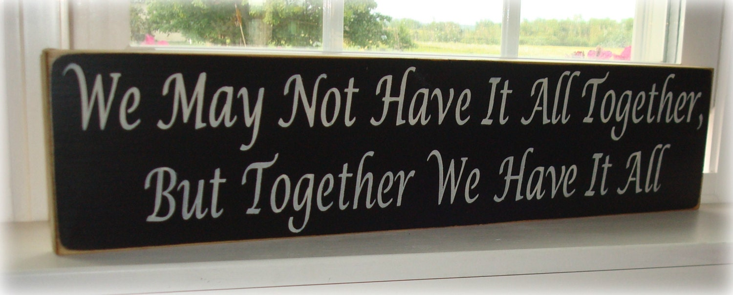 Painted Wood Signs With Sayings