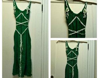 Corset Dress All Sizes, Emerald, Burgundy, Plum, Woodland Renaissance Faire Fairy Green Mori Girl Celtic Womens Valentines, St. Patricks