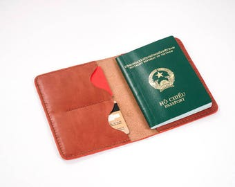 Passport Wallet Leather Pattern 3