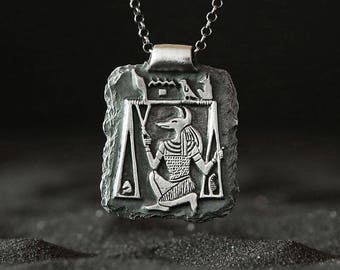 Anubis pendant etsy anubis the god of the underworld egyptian jewelry egyptian god anubis pendant magic jewelryancient jewelry talisman amulet handmade aloadofball Images