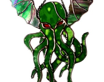 Stained Glass Cthulhu