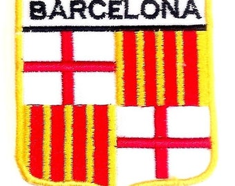 Barcelona Embroidered Patch