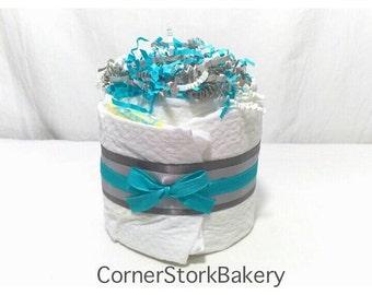 Mini Diaper Cake| Baby Shower Cakes| Baby Shower Centerpieces| Baby Gifts| Centerpieces| Baby Shower Diaper Cakes| Baby Shower Gifts| Baby