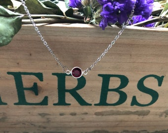 Swarovski Crystal Birthstone Necklace