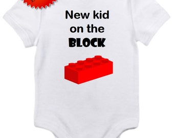 ON SALE New kid on the block bodysuit Gerber onesie you pick size newborn / 0-3 / 3-6 / 6 12 / 18 2t 3t 4t month