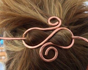 Infinity Hair Pin Barrette