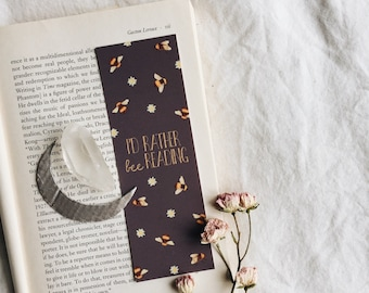 Be (bee) Reading Bookmarks