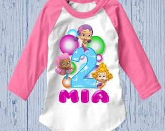 Bubble Guppies Birthday Shirt - Bubble Guppies Shirt