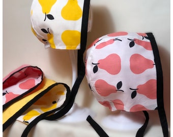 BONNET | Reversible | Baby | Child | FREE SHIPPING