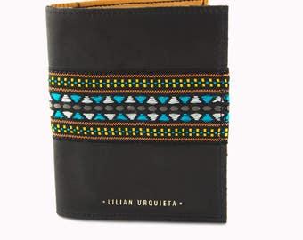 VERNE Passport Cover, Leather Passport Holder, Passport Wallet, Leather Personalized Passport Cover.