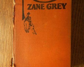 """First edition 1928 Zane Grey book """"Nevada"""""""