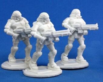 Nova Corp Riflemen (3) - 80013 - Reaper Miniatures