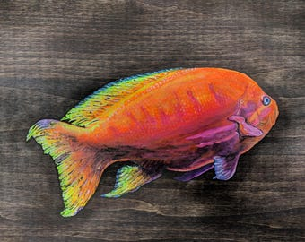 Trippy Fish, Painting