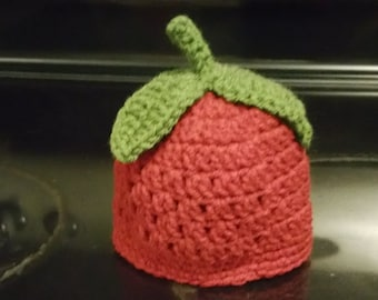 Crochet Apple Child Hat