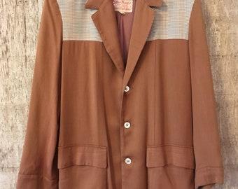 Vintage 1950's Sportimer two tone jacket rockabilly sport coat vintage jacket small/medium