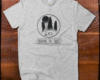 Adventure Shirt, Funny Nature Shirt, Camping Shirt, Happy Camper Shirt, Hiking Shirt, Take Me to the Mountains Tshirt, Great Outdoors Tee