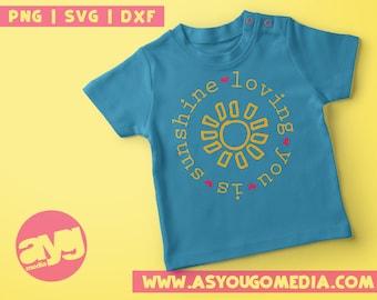 Love Svg, Baby Svg, Sunshine Svg, I Love You Svg, Silhouette, CriCut, Baby Clipart, Svg Files for Cricut, Cricut Designs, Svg, Png, Dxf,